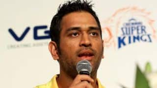 Mudgal Committee contradicts MS Dhoni's stand