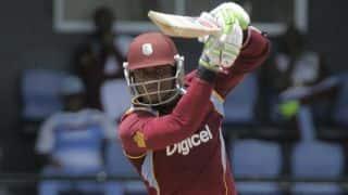 Marlon Samuels completes 4,000 runs during India-West Indies first ODI at Kochi