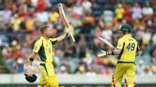 India vs Australia 2017: Tourists post 347 for 7 against Board President's XI as four men score fifties