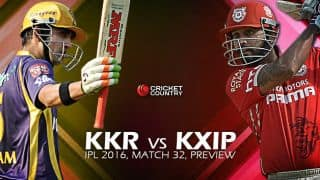 Kolkata Knight Riders vs Kings XI Punjab, IPL 2016 Match 32 at Eden Gardens, Preview: Mighty KKR take on struggling KXIP