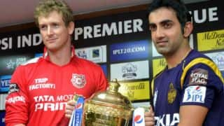 IPL 2014 Final Live Cricket Score, Kolkata Knight Riders (KKR) vs Kings XI Punjab (KXIP): Pandey, Chawla take KKR to second title finish