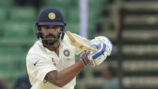 India vs England 3rd Test, Lunch Report Day 2: Visitors fold for 283; India loses Murali Vijay