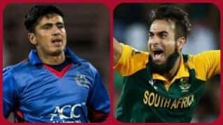 ICC WORLD CUP 2019: Imran Tahir is oldest and Mujeeb ur Rahman is youngest player in World Cup 2019