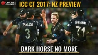 CT17, NZ preview: Black Caps eager to rise above 'dark-horse' tag