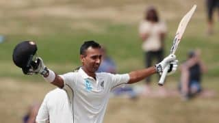 Jeet Raval secures maiden Test hundred as New Zealand cruise