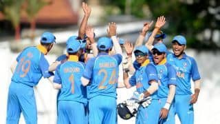Youth ODI: India thrash Sri Lanka by 135 runs to level series at 2-2