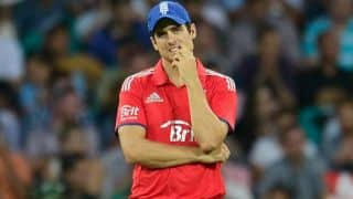Alastair Cook hints at stepping down as England skipper after loss in Sydney ODI