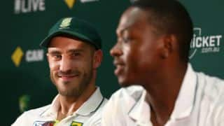 Du Plessis makes Rabada's girlfriend