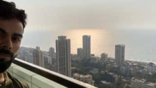 "Virat Kohli posts selfie with ""stunning view"" from new house in Mumbai"
