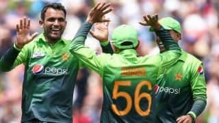 Pak vs Zim 5th ODI : Pakistan beat Zimbabwe by 131 runs, clinch series 5-0