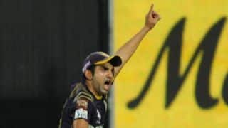 Gautam Gambhir involved in heated altercation with umpire during CLT20 2014 match against Chennai Super Kings
