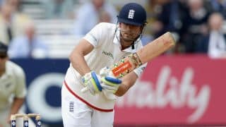 Alastair Cook scores half-century in England vs New Zealand 1st Test, Day Four at Lord's