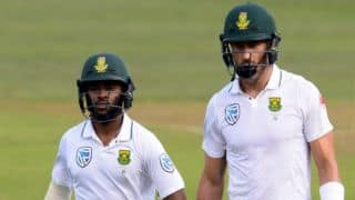 Faf du Plessis, Temba Bavuma's fifties extends hosts' lead to 379 before lunch