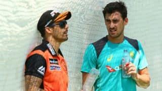 Johnson advises Australian bowlers to bowl short