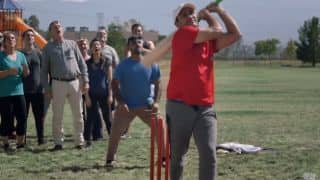 Virender Sehwag takes a fresh guard; bats for State Farm