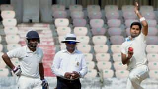 R Vinay Kumar attributes long wait for stupendous performance on Day One