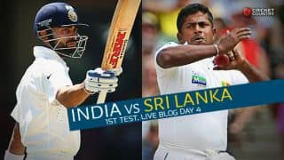 IND 112 | Live Cricket Score, India vs Sri Lanka 2015, 1st Test at Galle, Day 4: SL win by 63 runs