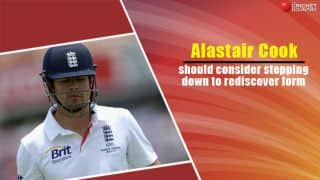 India tour of England 2014: Alastair Cook should consider stepping down to rediscover form