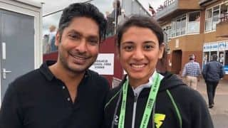 Smriti Mandhana's 'fan girl' moment