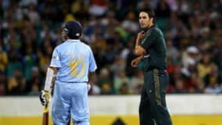 Sachin Tendulkar wishes Mitchell Johnson on his 35th birthday