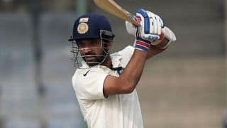 Tour match: Ajinkya Rahane gets runs under his belt as India extend lead to 290 against West Indies A