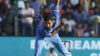 ICC CRICKET WORLD CUP 2019: Bhuvneshwar Kumar Start Practice an indoor practice session in Manchester