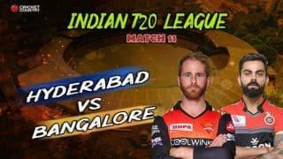 Indian T20 League 2019, Updates: Bairstow, Warner, Nabi guide Hyderabad to crushing 118-run win over Bangalore