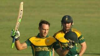 De Villiers full of praise for Du Plessis