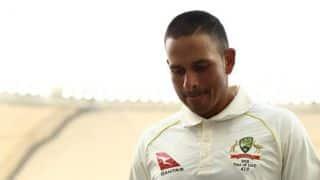 Usman Khawaja adds to Australia's injury woes