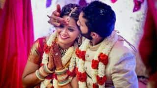 Dinesh Karthik, Dipika Pallikal complete vows, get married in Telugu ceremony