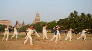 Metro Rail project-Ramlila is affecting Azad Maidan's pitch; Authorities asking Where shall cricketers go?
