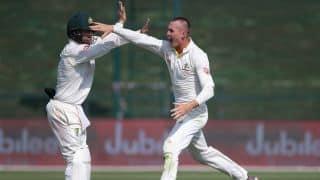 Pakistan vs Australia, 2nd Test: Fakhar Zaman, Sarfraz Ahmed miss hundreds on spin-heavy day