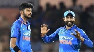 India vs West Indies, 4th ODI: Khaleel Ahmed reprimanded for 'aggressive celebration'