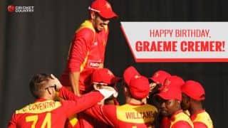 Happy Birthday, Graeme Cremer: Zimbabwe skipper turns 30!