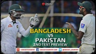 Bangladesh vs Pakistan 2015, 2nd Test at Dhaka Preview: Hosts look for knock-out punch