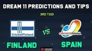 FIN vs SPA Dream11 Team 3rd T20I Spain vs Finland T20I – Cricket Prediction Tips For Today's T20I Match Finland vs Spain at Kerava