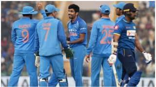 India beat Sri Lanka by 141 runs in 2nd ODI at Mohali, level series 1-1
