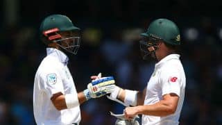 Lunch Report 1st Test, Day 3: Dean Elgar, JP Duminy take South Africa's lead to 181 runs vs Australia