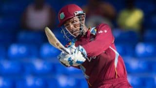 India vs West Indies 2014, 1st ODI at Kochi: West Indies reach 295/4 after 47 overs