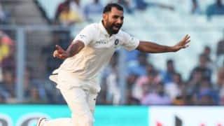 Mohammed Shami, Ishant Sharma strike; Sri Lanka trail India by 518 before tea, 2nd Day, 3rd Test