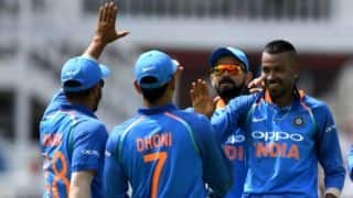 Absence of allrounder forces India to play three fast bowlers says Virat Kohli