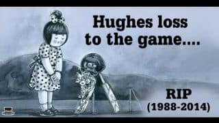 Phil Hughes remembered by Amul through latest advertisement
