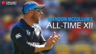 Sachin Tendulkar only Indian in Brendon McCullum's all-time XI