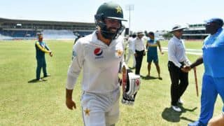 Misbah-ul-Haq warns Pak of complacency ahead of 2nd Test vs WI