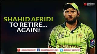 Shahid Afridi to quit international cricket after ICC World T20 2016