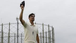 Alastair Cook to receive knighthood