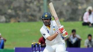 Sri Lanka vs Pakistan 2014, 2nd Test at Colombo (SSC): Ahmed Shehzad half-ton helps Pakistan reach 126 for 3 at Tea