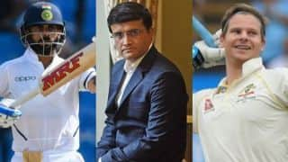 Kohli is best in the world at the moment but Smith's records speak for itself: Ganguly