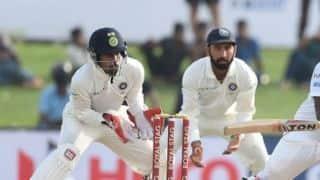 India vs Afghanistan Test 2018: Wriddhiman Saha ruled out
