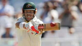 Australia 27/0 at stumps; lead by 234